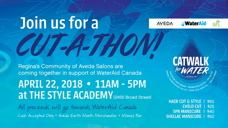 Join us at our Cut-a-thon on April 22nd!